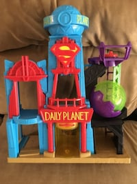 Super man daily planet Vaughan