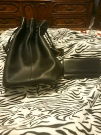 Coach purse and matching wallet mint condition