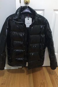 Moncler jacket with hoodie