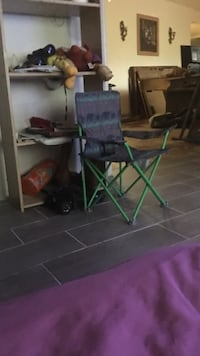 green and black camping chair Houston, 77033