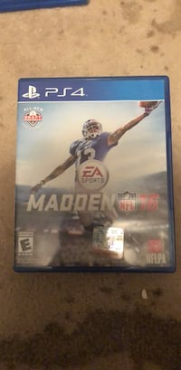 Madden nfl 16 ps4 game  Arlington, 22205