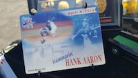Rare Hank Aaron 715 Baseball hit 3D hologram card Scranton, 18504