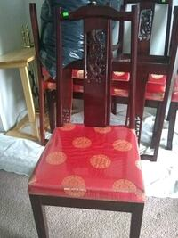 80' dragon rosewood chairs