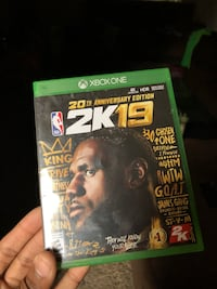 Xbox one nba 2k19 come with currency 43$ code with the game  Federal Way, 98023