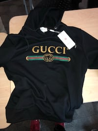 Gucci hoodie With wolfs on the hood