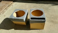"""Two ported box and they are 15"""""""
