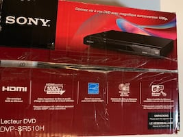 Sony upscaling player