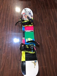 Ride snow board with K2 bindings DC boots  Toronto, M8W 4L4