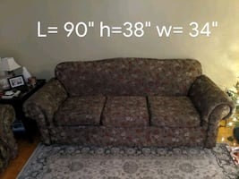 TWO COUCHES FOR SALE 200$