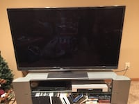 """50"""" flat screen TV with TV stand Omaha, 68116"""