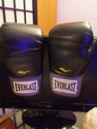 pair of black Everlast boxing gloves Winnipeg, R3G 1M3