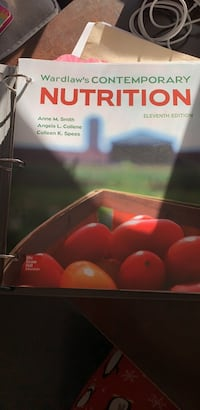 Wardlaw's Contemporary Nutrition 11th edition Tracy, 95376