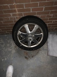 Single Honda rim 5x114.3 Mississauga