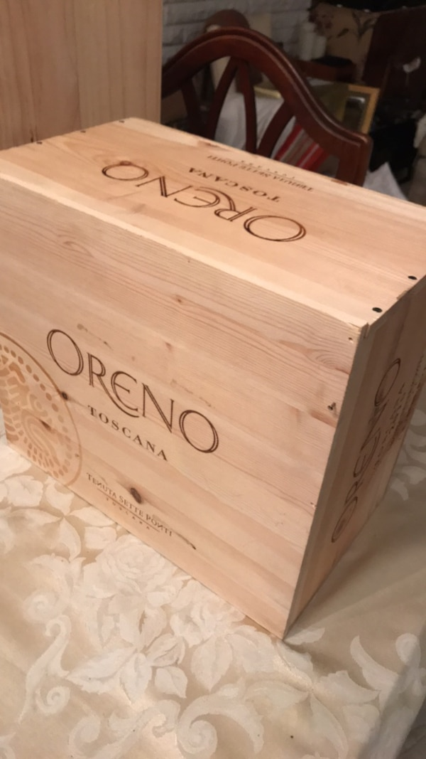 Wine box.   Great for wine cellars and bar decorations