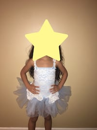 Toddler's white and blue tutu dress Vaughan, L6A 3V3