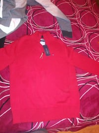 red and white polo shirt Norwalk, 90650