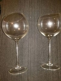 WINE GLASSES - SET OF 8 BEAUTIFUL UNIQUE BY Z GALLERIE Bethesda, 20814
