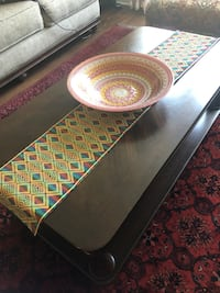One coffee dark work  table and two side tables Silver Spring, 20904