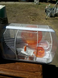 white and red pet cage Fullerton, 92833