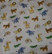 Animal Crib Blanket