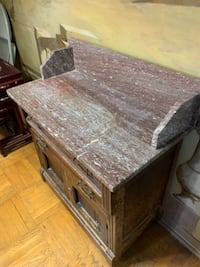 Antique cabinet with marble top Philadelphia