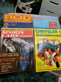 vintage car and truck magazines