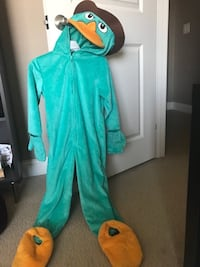 Dsney Parks Perry Costume (Agent P) - Disney Store Size XS - Runs Large- Very Good Condition