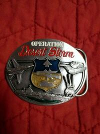 Operation Desert Storm belt buckle