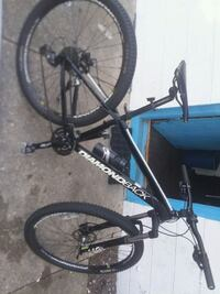 black and blue hardtail mountain bike Absecon, 08201