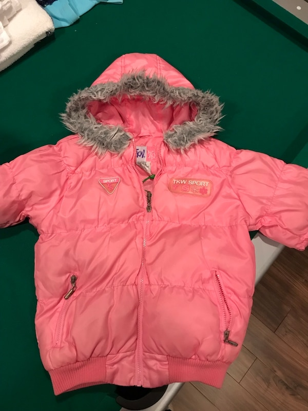Girls jackets, size S (6-8)