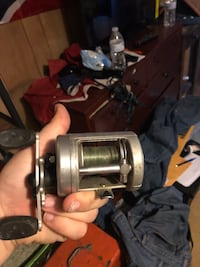 black and gray fishing reel Hagerstown, 21740