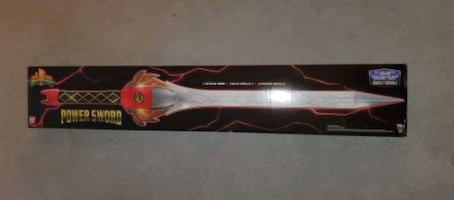 Power Rangers Legacy - Red Ranger Power Sword Toy Collectible