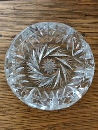 Vintage Crystal ashtray Markham, L3T 3H7