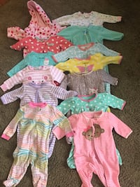 3 months to 6 moths baby girl clothes Platte City, 64079