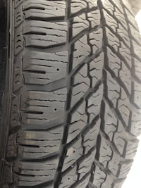 4 Goodyear Winter tires 235/55/17