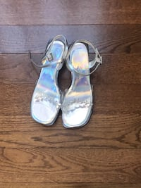 Silver kids shoes $10 each or 2 for $15 Waldorf, 20601