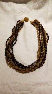 brown and black beaded necklace Takoma Park, 20912