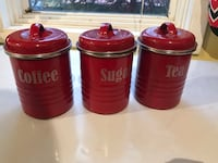 three red and white plastic containers 3250 mi