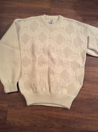 $50 Brand New Men's Tan Cream Sweater In Package - XL Austin, 78753