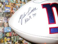 Y A Tittle autograph New York Giants football Miami, 33155