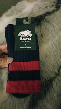 Brand new authentic Roots socks for men