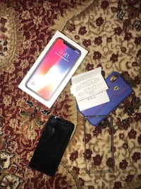 Space grey iphone x 256GB 1 month old with reciept Calgary, T1Y 1V8