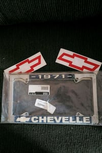 License plate bracket 1971 chevelle X 2 Indianapolis, 46227