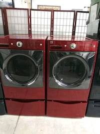 Red front load washer and drayer  Laurel, 20707