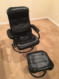 Leather recliner chair w/ottoman  Gainesville, 20155