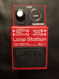 Boss RC-1 Loop Station Looper Pedal New Market, 21774