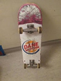 white and red skateboard deck Vancouver, V6A 1G4