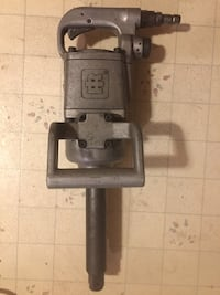 """Ingersoll rand 1"""" Air impact. Setting switch and everything still works as new  Minerva, 44657"""