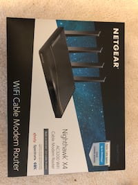 black and gray Linksys wireless router box Herndon, 20170