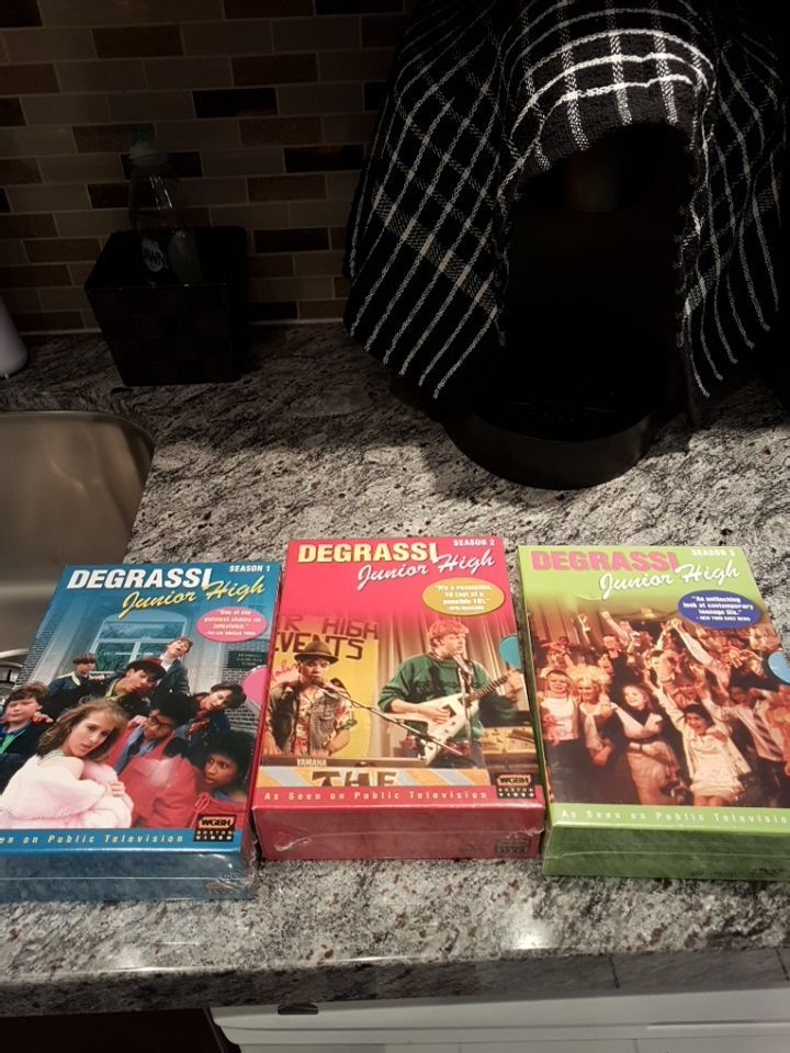 DEGRASSI JUNIOR HIGH COLLECTION BRAND NEW